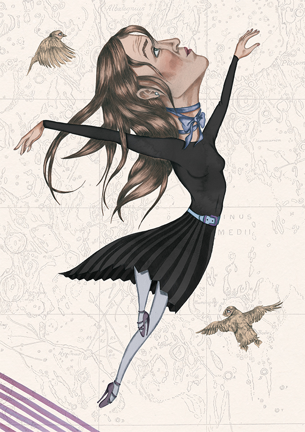 BLACK DRESS - BALLERINA