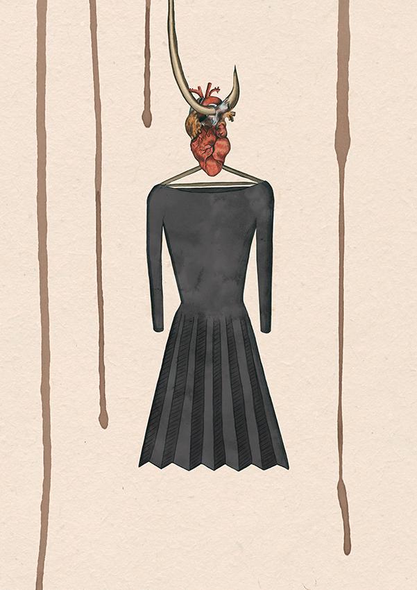 BLACK DRESS - INNENCOVER neu!!!